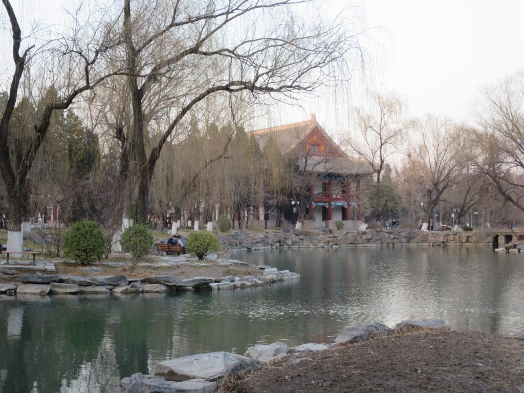 北京大学の湖