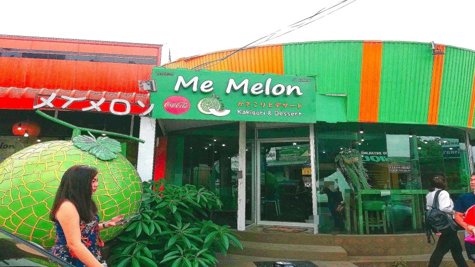 ハジャイのふわふわ激うまかき氷店『me melon』がインスタ映えの画像