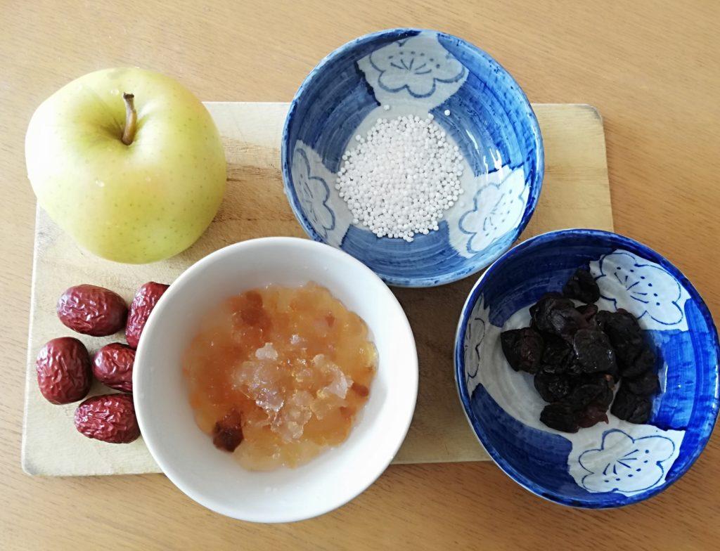 糖水の材料の画像
