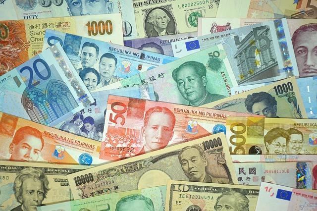 人民元と日本札の画像