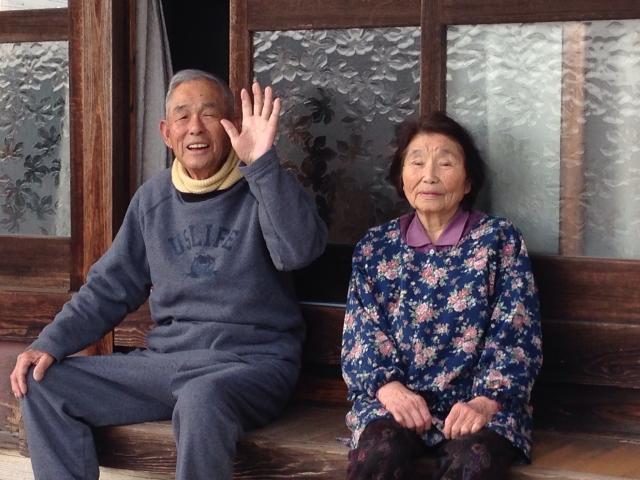 老夫婦の画像