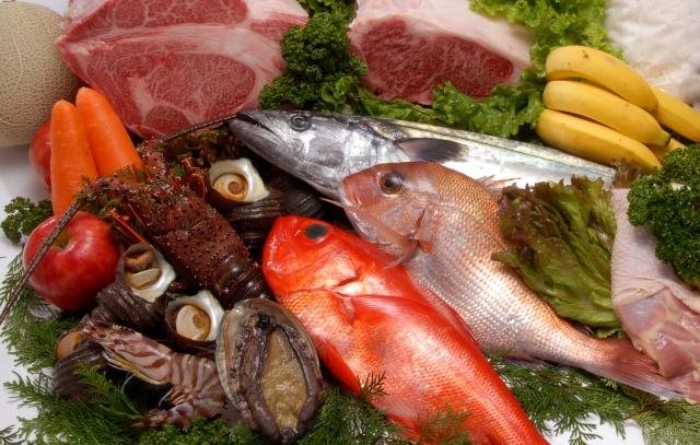 魚介のごちそうの画像